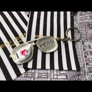 Henri Bendel I Love Henri Bag Charm NWOT. 👀 ❤️